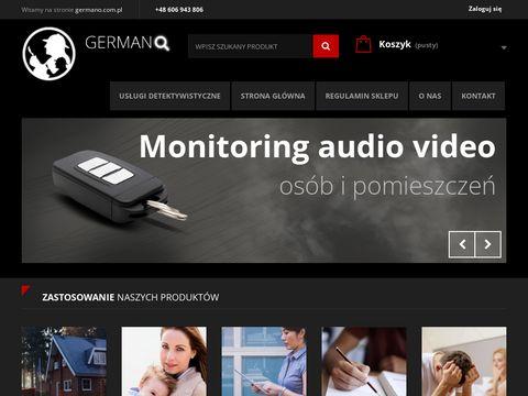 GERMANO.com.pl- podsłuchy, mini kamery
