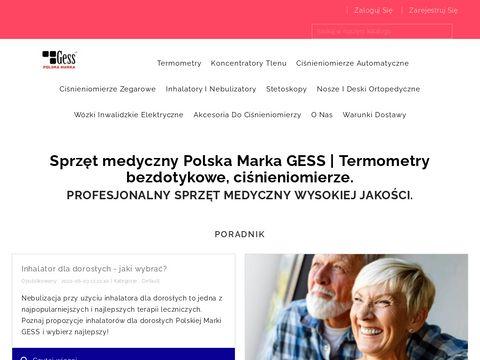 CiÅ›nieniomierz automatyczny - http://gess.com.pl