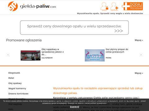 Tani opa艂, pellet czy ekogroszek a mo偶e cena oleju opa艂owego. Gielda-Paliw.com
