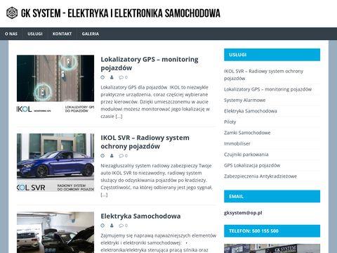 W. GONTARZ, M. KOWAL diagnostyka elektroniki samochodowej szczecin