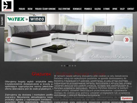 Glazurex - podłogi i drzwi