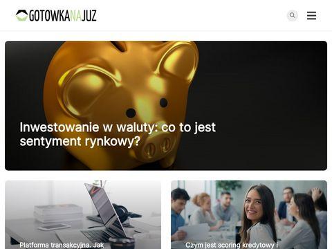 Kredyty przez internet na raty - gotowkanajuz.pl