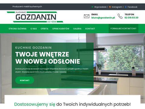 Meble Kuchenne – kuchnie Gniezno, Mogilno, Inowrocław, Żnin, Września, Szubin, Słupca