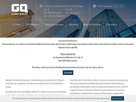 Global QualityAudit ISO 9001