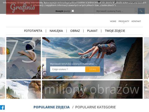 Fototapeta, obraz, grafika na wymiar - Wydruki na indywidualne zam贸wienie - Grafinia.pl