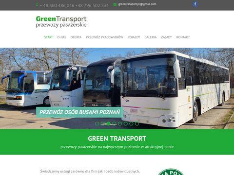 Przewóz osób Poznań - wynajem busów, autobusów