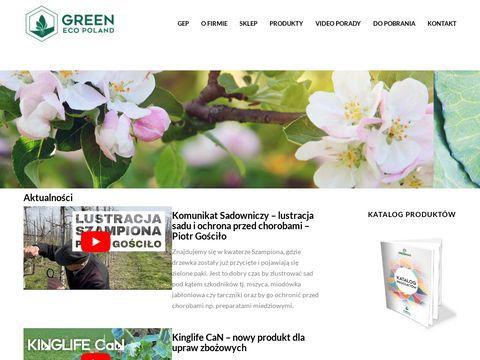 Greenecopoland.pl nawozy organiczne