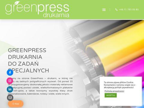 Drukarnia Wroc艂aw - greenpress.pl