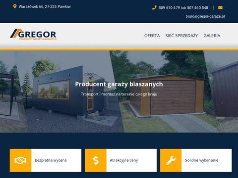 Blaszaki - gregor-garaze.pl