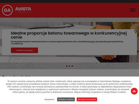 Grupaavista.pl beton białystok
