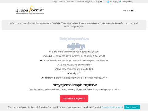 Ulotki reklamowe tanio, strony www, reklama grupaformat
