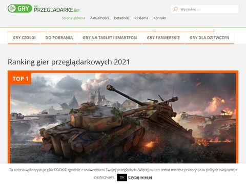Grynaprzeladarke.net - gry przeglądarkowe dla każdego