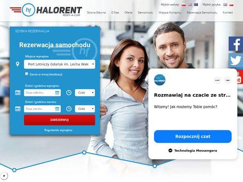 HaloRent - wynajem samochod贸w luksusowych Gda艅sk