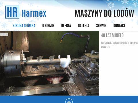 Harmex - Maszyny do lodów