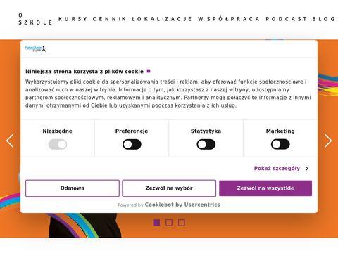 Kursy j臋zyka angielskiego dla dzieci