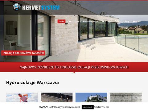 Hydroizolacje Warszawa - Hermet System