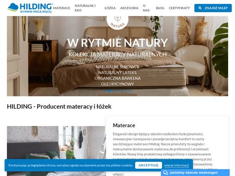 Producent materacy - hilding.pl