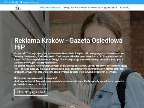 Reklama Krak贸w, Gazeta Osiedlowa HiP