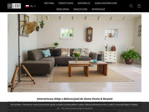 Dekoracje wnętrz - homebeaute.com.pl