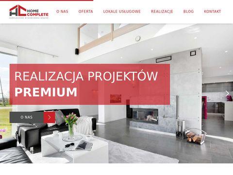 Remonty i wykończenia pod klucz Gdańsk - Home Complete