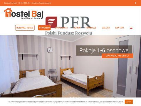 Hostel-baj.pl hostel w Poznaniu - noclegi