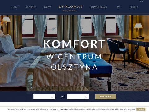Hotel Dyplomat**** w Olsztynie