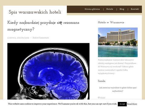 Recenzje hoteli - Warszawa