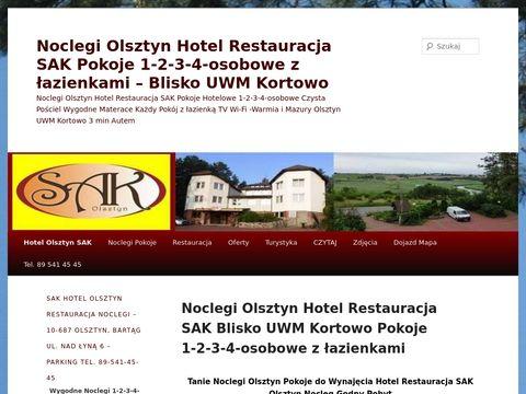 Hotel Olsztyn - Noclegi Restauracja SAK