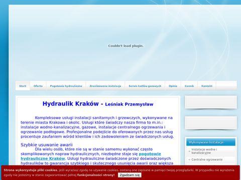 Hydraulik Kraków - Leśniak Przemysław