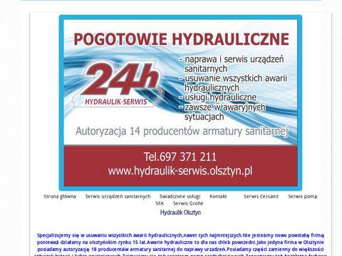 Hydraulik Olsztyn| Usuwamy wszystkie awarie