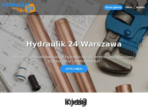 Hydraulik Warszawa - z nami warto. Pogotowie hydrauliczne w Warszawie i okolicach.