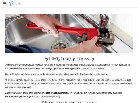 Hydraulik usługi hydrauliczne gdynia