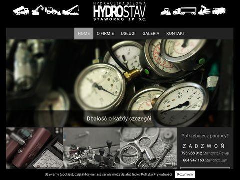 Serwis Hydrauliki Siłowej Białystok - hydrostav.pl