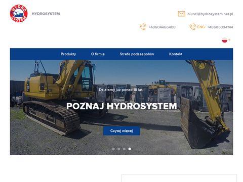 �yżka koparki - hydrosystem.net.pl