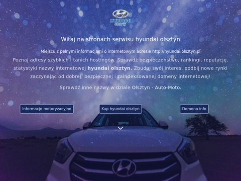 Salon, Dealer, Serwis samochod贸w Hyundai Olsztyn