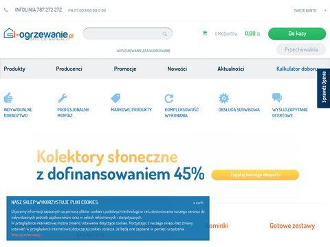 I-ogrzewanie.pl - Spec od instalacji - fachowy sklep