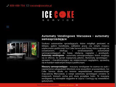 Automaty vendingowe Warszawa