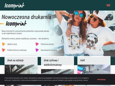 ICOMPRINT   agencja reklamowa Lublin   grafika która sprzedaje