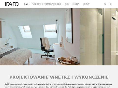 IDAFO projektowanie wnętrz i wykończenie Kraków