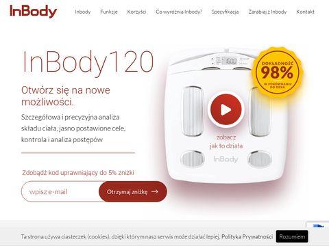 InBody120 - profesjonalne badanieskładu ciała