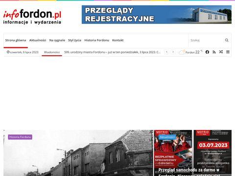 infofordon.pl - fordoński serwis informacyjny - Strona Główna