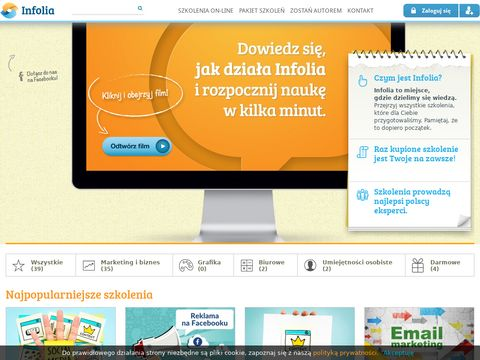 Infolia.pl - Szkolenia i kursy on-line - dzielimy siÄ™ wiedzÄ….