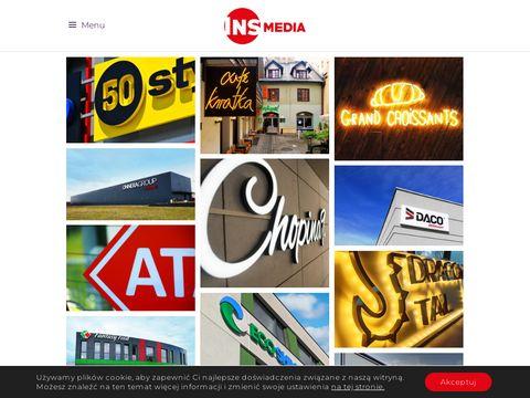 Insmedia.pl reklama zewn臋trzna krak贸w
