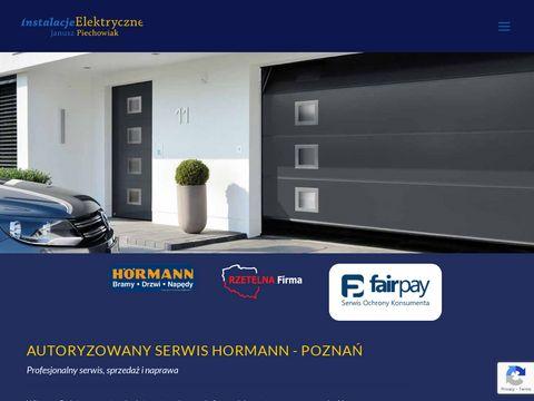 Hormann bramy garażowe, sprzedaż, serwis, montaż - Poznań