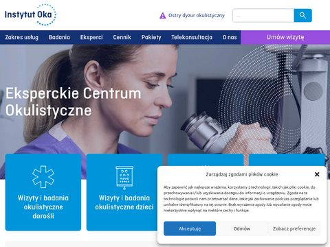 Instytut Oka - eksperckie centrum diagnostyki i terapii chorób siatkówki