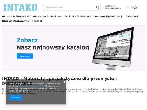 Dystanse zbrojeniowe punktowe - intako.pl