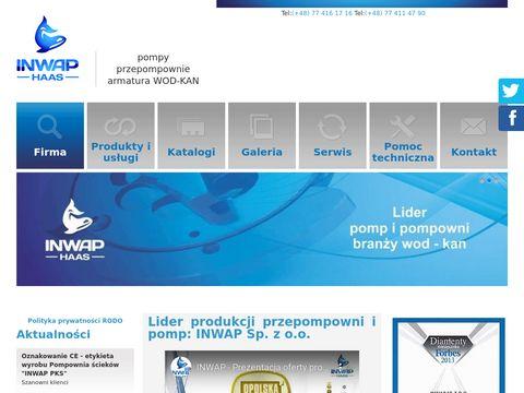 INWAP kanalizacja sanitarna producent