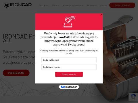 IronCAD - program CAD 3D