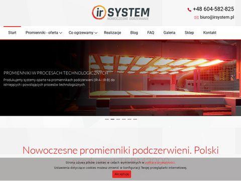 Promiennik podczerwieni - irsystem.pl