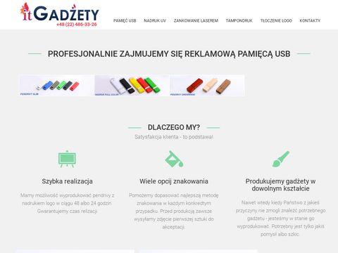 Itgadzety.pl pendrivy z nadrukiem